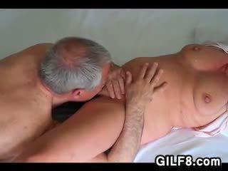 Grandpa Licking Grandmas Mature Pussy