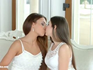 I missed you by Sapphic Erotica - Alexis Brill and Diana Dolce lesbians