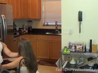 quality brunette scene, all old vid, rated cock sucking vid