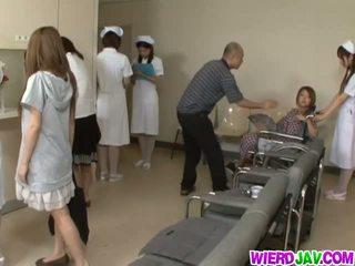 Group hardcore with horny nurses