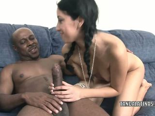 Adolescenta hottie kimberly gates este taking unele negru penis