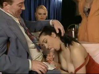 集団セックス, フランス語, ビンテージ, hdポルノ