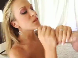 Pretty Blond Jamie Elle all holes penetrated