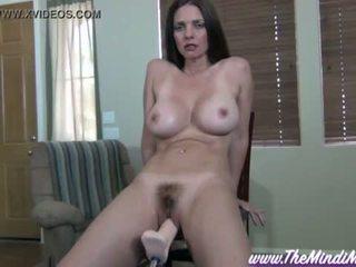 fucking machine, orgasm, big tits