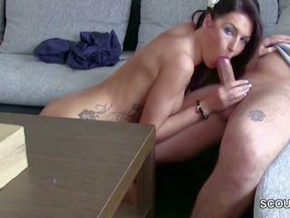 German Teen Seduce Postman to Fuck When Mom Away: Porn b3