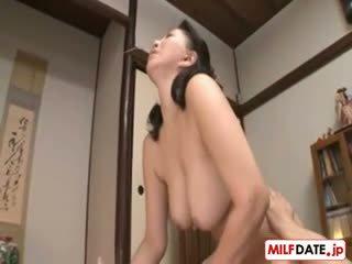japānas, big boobs, hardcore, milf