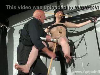 Crossed pangawulan tit tortures and sexual dominasi of njerit brunette jimat
