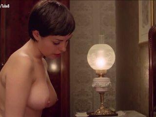 große brüste, rotschopf, jahrgang, dusche