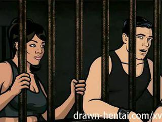Archer 无尽 - 监狱 性别 同 lana