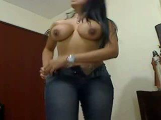 Sexy huge boobed huge bokong gf teasing