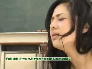Sora aoi جنسي اليابانية طالب gets ل شاق سخيف في ال