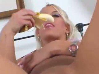 masturbācija, banāns, fruits