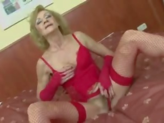 Grandma Horny for Young Black Cock, Free Porn 49