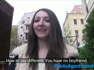 Publicagent adolescenta bruneta gets inpulit greu în o hotel cameră