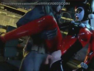 Harley quinn en batman avoir sexe