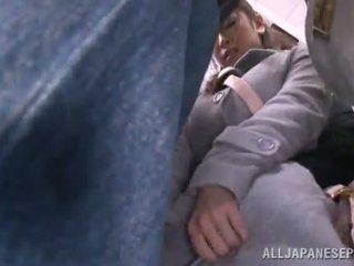 Asian Sweetie Has Raped In The Public Bus