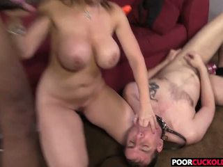 Cuckold Watching Sara Jay Banging with a BBC: Free Porn b0