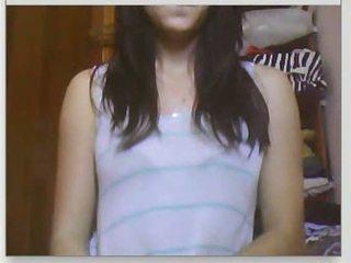 webcam, cô gái, chatroulette