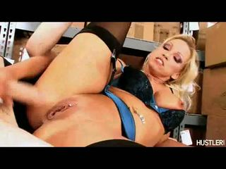 Golden Haired Bitchy Nikki Hunter Likes The Warmth Of His Lovers Dick On Her Mouth