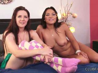 Adrianna luna と samantha bentley 入手する キャッチ
