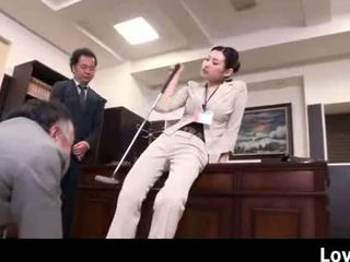 Japan Office Slut Goes Nuts