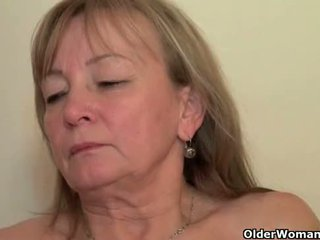 Mom seduces her toy boy with her sweet matured pussy