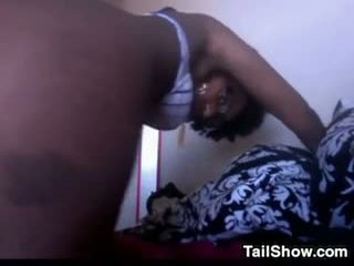 ideal webcam, more solo hot, black and ebony great