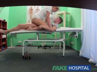 Fake Hospital Stud caught giving nurse a creampie