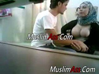 blinkende, amatør, muslim