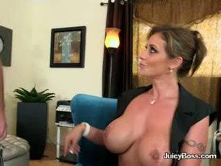 nový bruneta všetko, veľké prsia, kvalita výstrek pekný