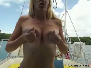 squirting, cougar, boat, squirt