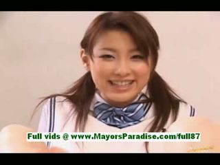 Akane sakurayoung japanese schoolgirl in bed