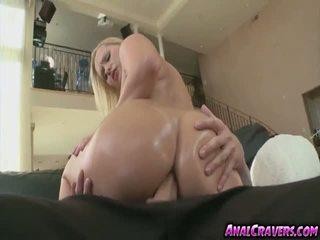 Blonde chick Katja Kassin having a big cock