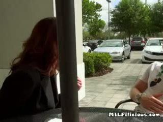 Foxy Lady Eva Long Seduces And Sucks Hung Teen