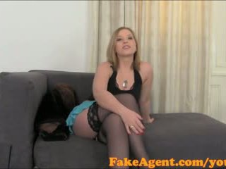 FakeAgent Spoilt babe with big tits is looking for some fast cash