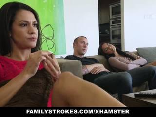 Familystrokes - Fucked Not My Bro on Movie Night: Porn c0