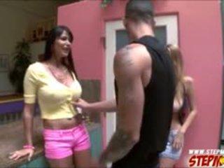 Natalia starr shares onu bfs deli için onu taşaklar eva karera