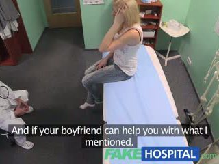 Fakehospital الطبيب prescribes orgasms إلى مساعدة patients ألم relief