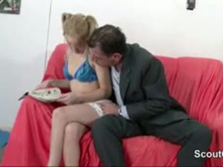 Dad Seduce German Setp-Daughter To Fuck When Mom Not Home