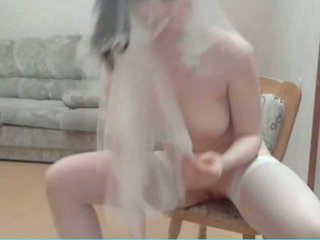 Russian Beauty on Webcam with Chair, Free Porn 19