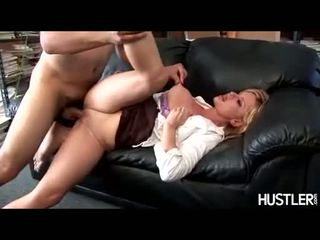 Lusty honey Violet Addamson gets awesomely boned deep in her shaved pussy