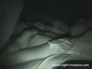 Sleeping Teen Fucked near her Sister