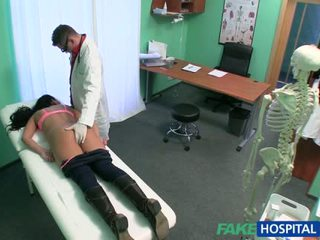 Fake doctor pussy nailed her hot patient