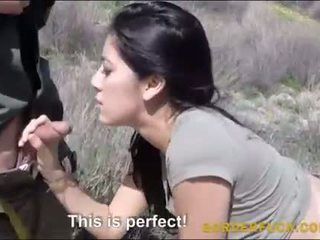 Latinan kimberly gates banged mukaan border patrol upseeri
