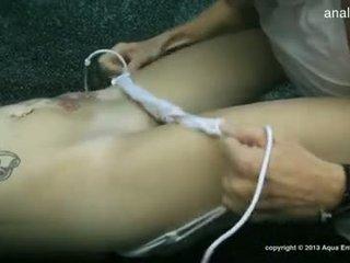 Busty gf accidental anal