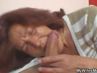 Smart Granny Fucks Daughter's Boyfriend, Porn 9f