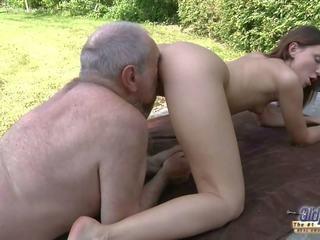 Old Young Porn - Grandpa Fucks Teen Hardcore Blowjob...