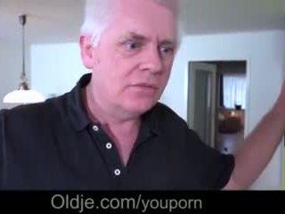 Hot Teen Mistress Closeup Fucking Old Cheating Husband Takes Facial Video