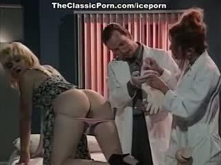Leena, Asia Carrera, Tom Byron In Vintage Sex Clip