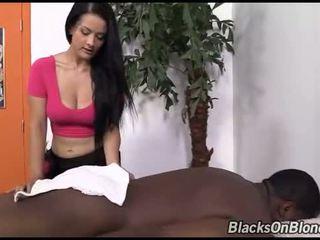 Inked Katrina Jade got creampied by a black dude